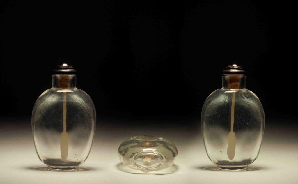 水晶素鼻煙壺 | Rock Crystal Plain Snuff Bottles | 治潁珍藏 | ZhiYing Collection